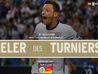 勒夫留任至2018世界杯 厄祖当选德国欧洲杯最佳