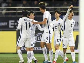 东亚杯-韩国4-1日本夺冠