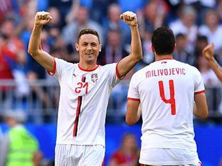 塞尔维亚瑞士上演关键战
