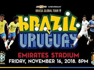 国际赛推荐:巴西轻取乌拉圭