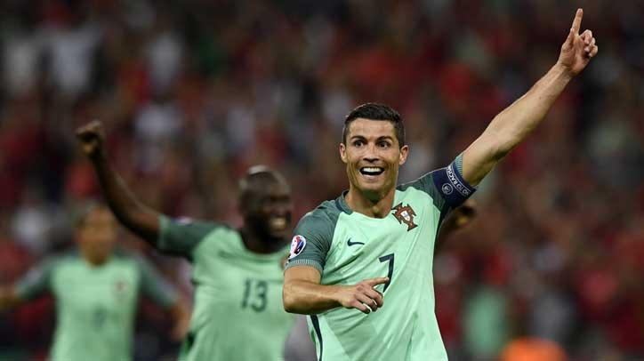 欧洲杯-葡萄牙2-0威尔士晋级决赛
