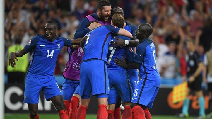 欧洲杯-格里兹曼双响 法国2-0德国进决赛