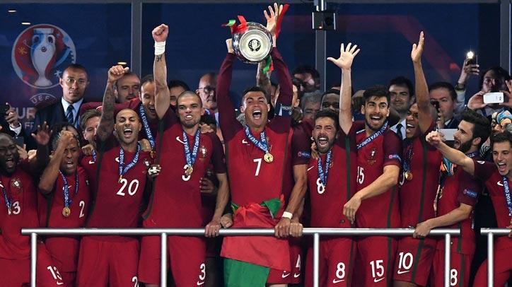 欧洲杯-葡萄牙加时1-0法国首夺冠军